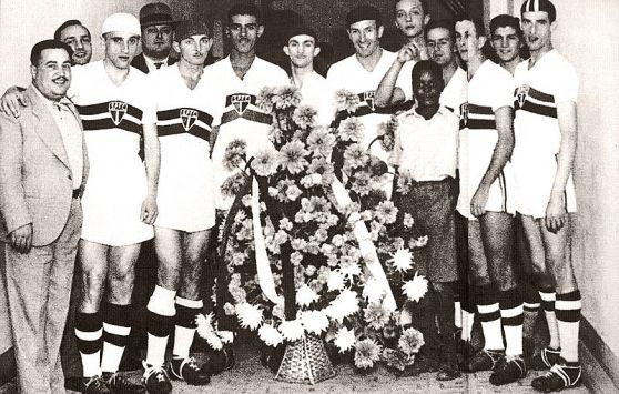 Time do São Paulo em 1938 - vice campeão paulista